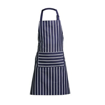 Șorț de bucătărie Premier Housewares Butcher Stripe, albastru-alb imagine