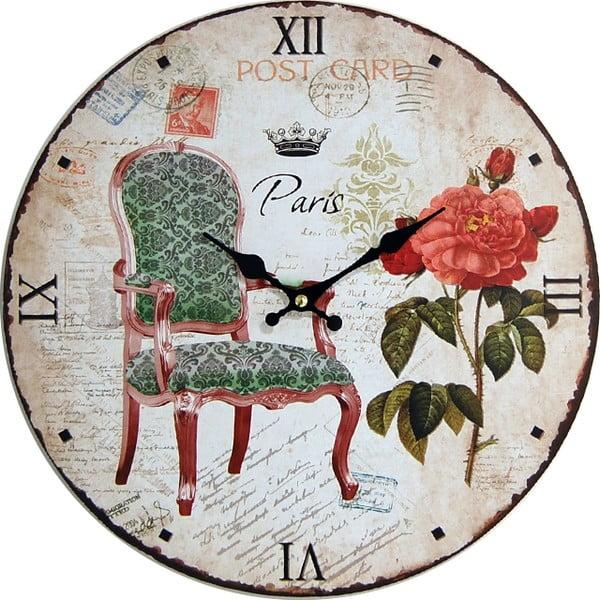 Nástěnné hodiny Post Paris