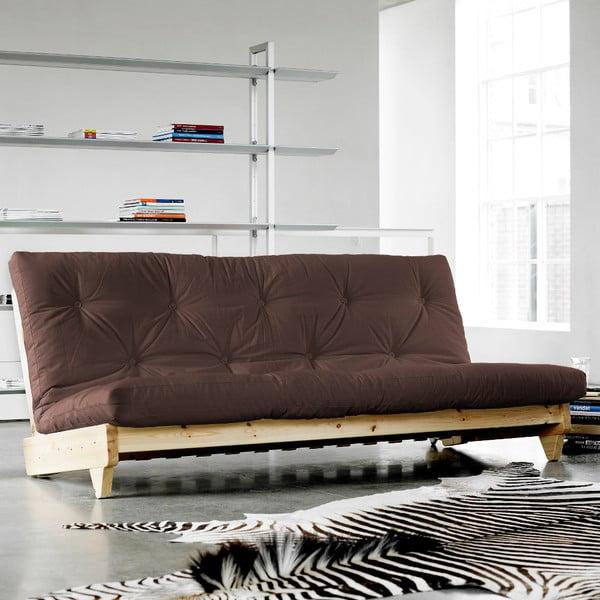 Canapea extensibilă Karup Fresh Natural/Brown