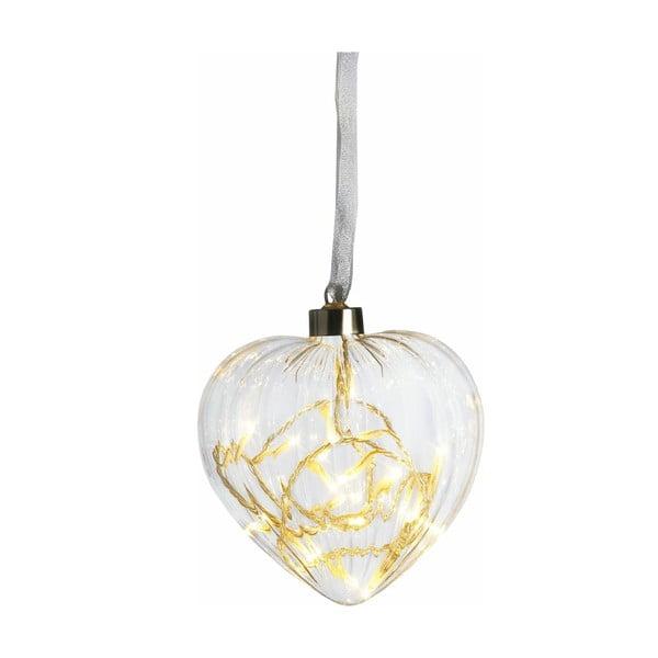 Svítící srdce Heart, 13 cm