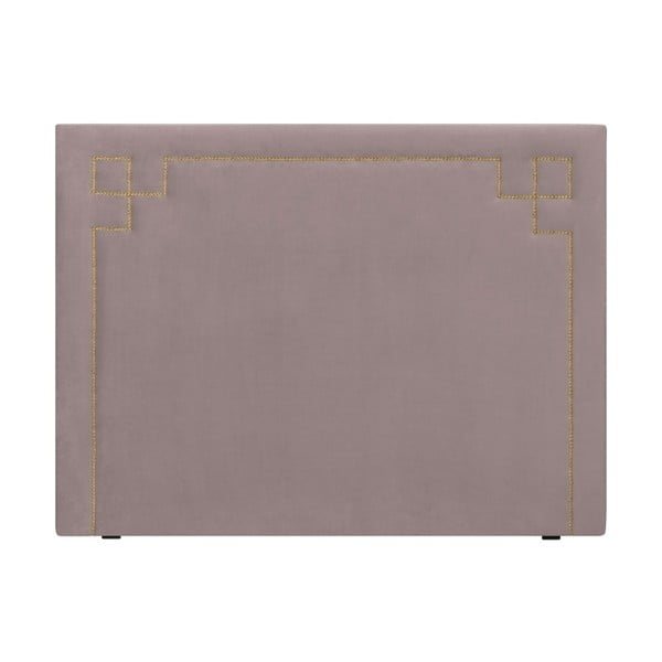 Levandulově fialové čelo postele THE CLASSIC LIVING Nicolas, 120 x 160 cm