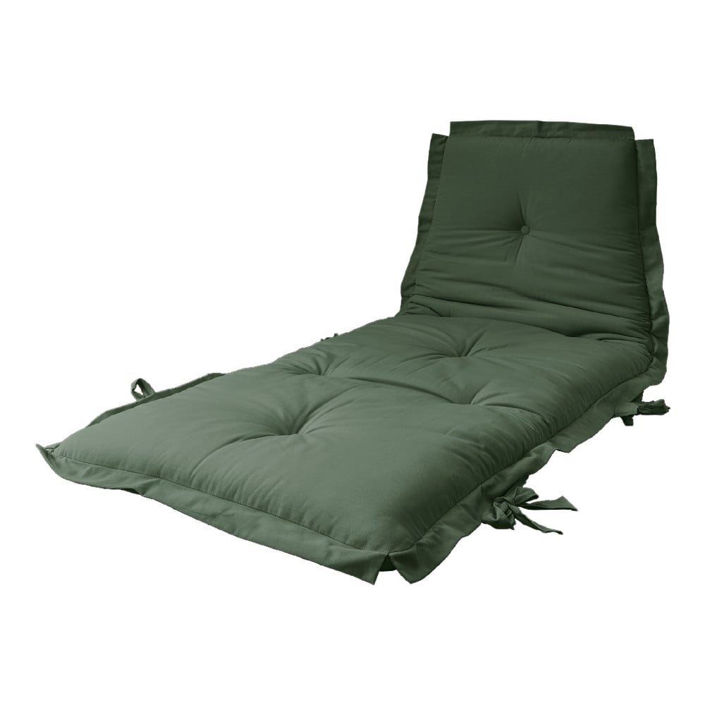 Variabilní futon Karup Design Sit  Sleep Olive Green