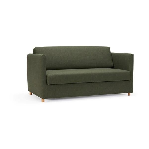 Olan Twist Dark Green sötétzöld kihúzható kanapé - Innovation