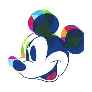 Obraz Pyramid International Mickey Mouse Colour Shadow, 40 x 40 cm