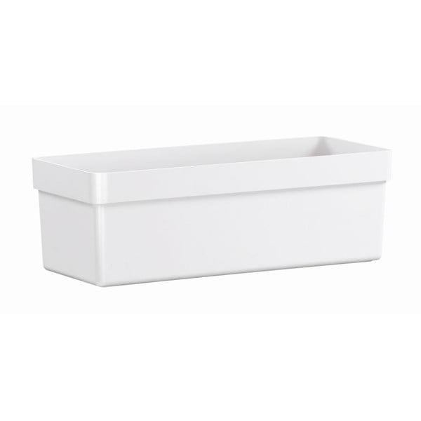 Květináč City Classic White, 48x20x16 cm