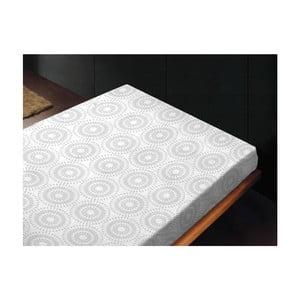 Neelastické prostěradlo Bianco Unico, 180x260 cm