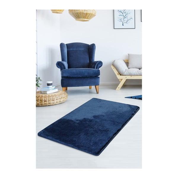 Ciemnoniebieski dywan Milano, 140x80 cm