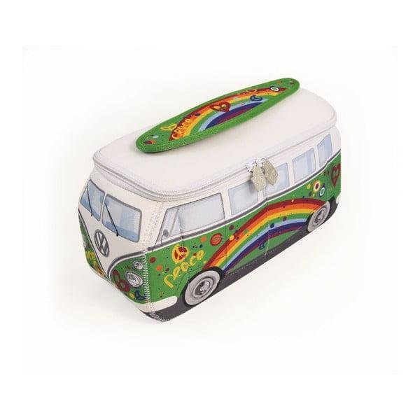 Kosmetická taška VW Bus, zelená