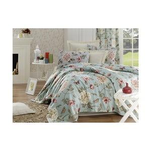 Bavlněný přehoz přes postel na dvoulůžko Single Pique Rasso, 200 x 235 cm