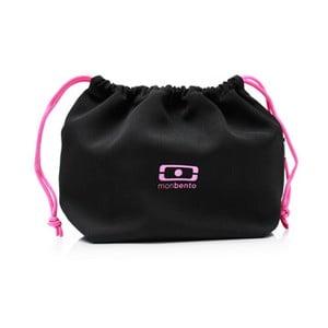 Kapsa na svačinový box Monbento Black/Pink