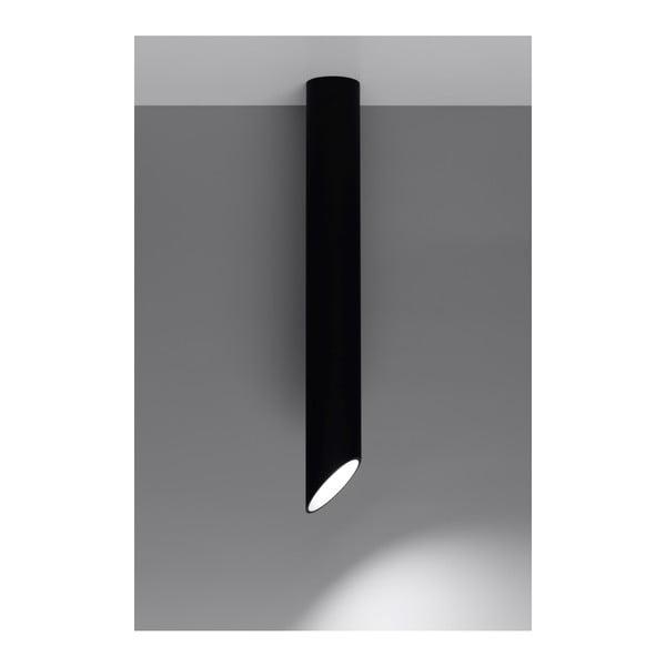 Černé stropní světlo Nice Lamps Nixon, délka80cm