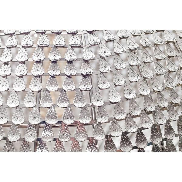 Závěsný lustr Fisura Waves Silver, 40 cm