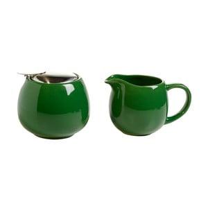 Set zelené cukřenky a mléčenky Maxwell&Williams Infusions T