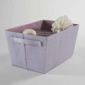 Coș pentru depozitare Light Purple Rope, lățime 32,5 cm, violet
