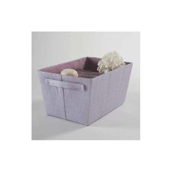 Fialový úložný košík Light Purple Rope