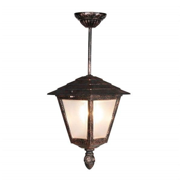 Závěsné venkovní svítidlo bronzové barvy Copper