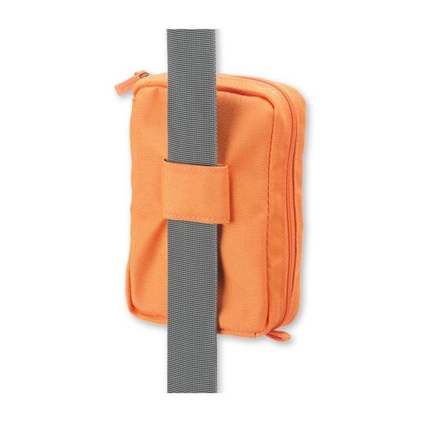 Oranžová univerzální kapsička Moleskine, 17x12 cm