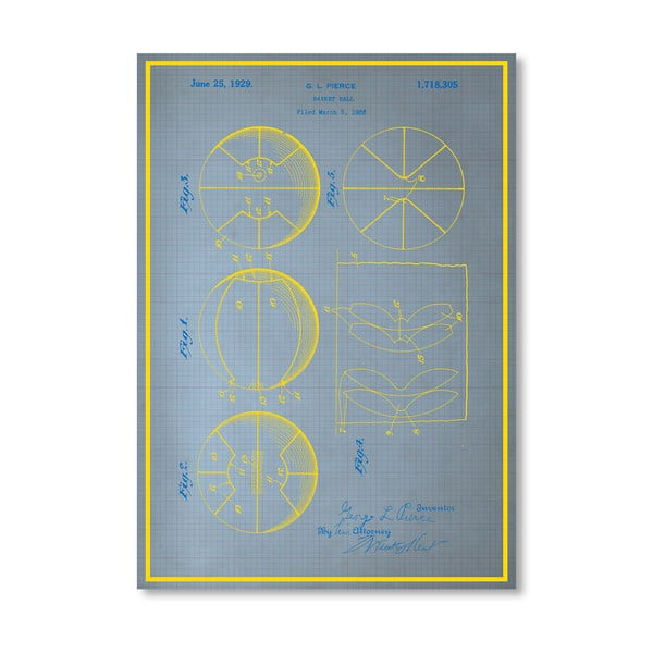 Plakát Basketball, 30x42 cm
