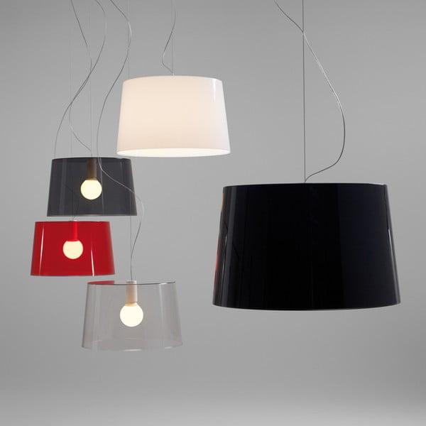 Závěsné světlo L001S/B, transparentní červená