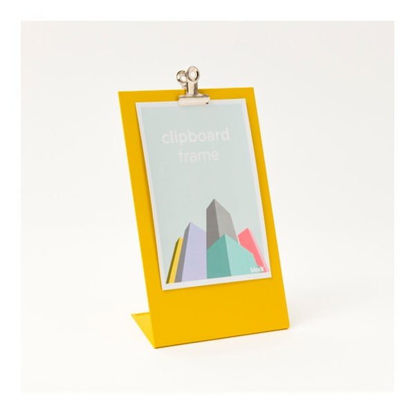 Žlutý rámeček na fotku Clipboard Medium