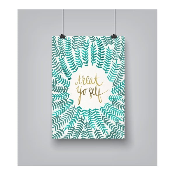 Plakat Americanflat Treat by Cat Coquillette, 30x42 cm