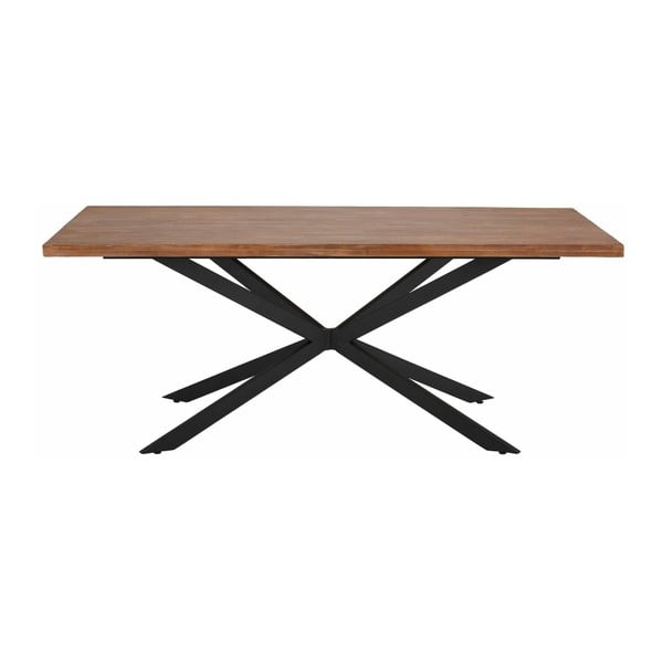 Jídelní stůl v přírodním dekoru Støraa Adrian, 200 cm