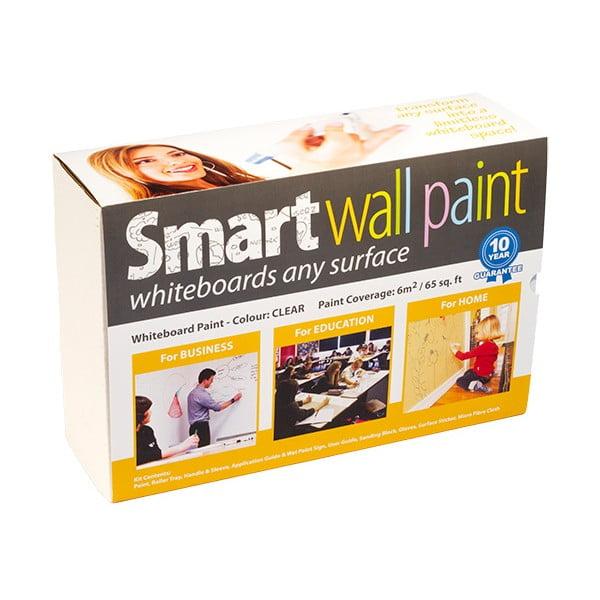 Chytrý nátěr pro psaní na stěnu Smart Wall Paint do 6 m2, průhledná barva