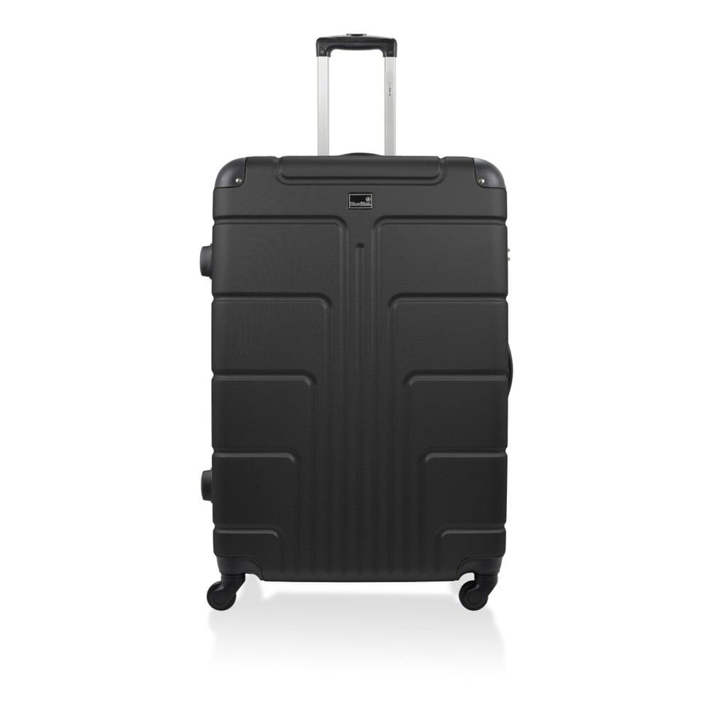 Černý kufr na kolečkách Blue Star Ottawa, 46 l