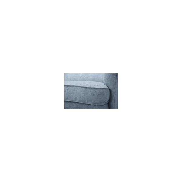 Stříbrná trojmístná pohovka Vivonita Monroe