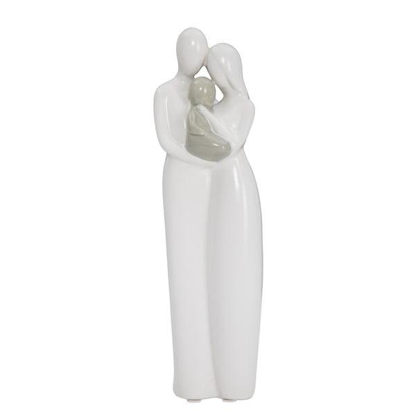 Bruges fehér dekorációs kerámia szobrocska - Mauro Ferretti