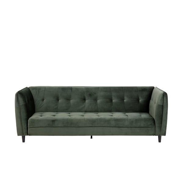 Canapea extensibilă Actona Jonna, verde