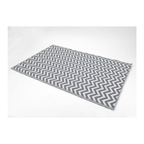 Koberec Zig Zag Grey, 120x180 cm