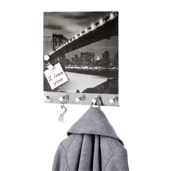 Magnetický věšák na kabáty Wenko Manhattan Bridge