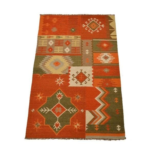 Vlněný koberec Kilim 51, 150x245 cm