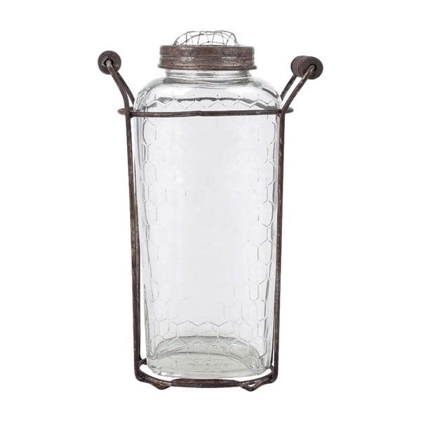 Skleněná váza Herink No1
