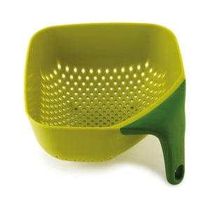 Strecurătoare Square Colander Medium, verde