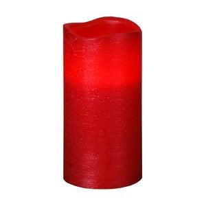 Červená LED svíčka Best Season Presse L