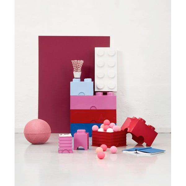 Růžová úložná kostka LEGO® Friends