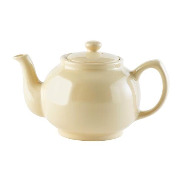 Brights krémszínű kő kerámia teáskanna, 1,1 l - Price & Kensington