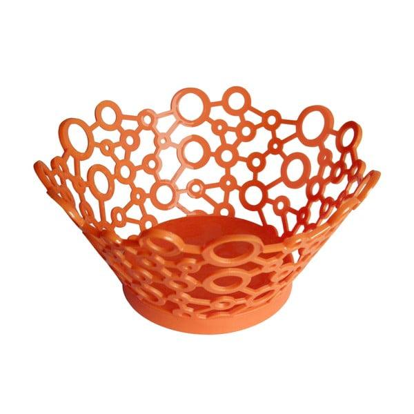 Košík ForMe Orange, 26x13 cm