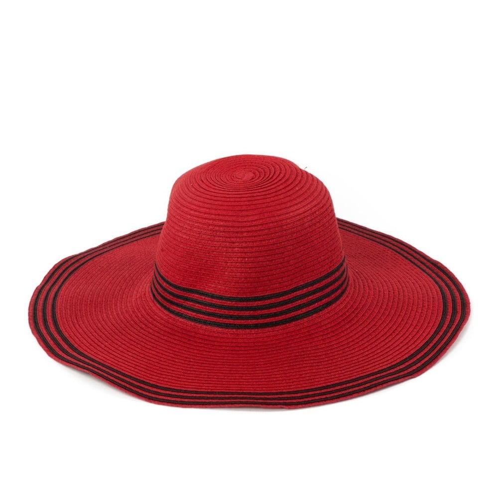 Tmavě červený klobouk Art of Polo Warm