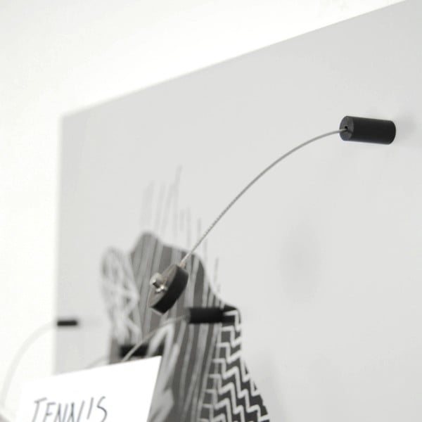 Magnetická tabule dESIGNoBJECT.it Brainstorming,50x50cm