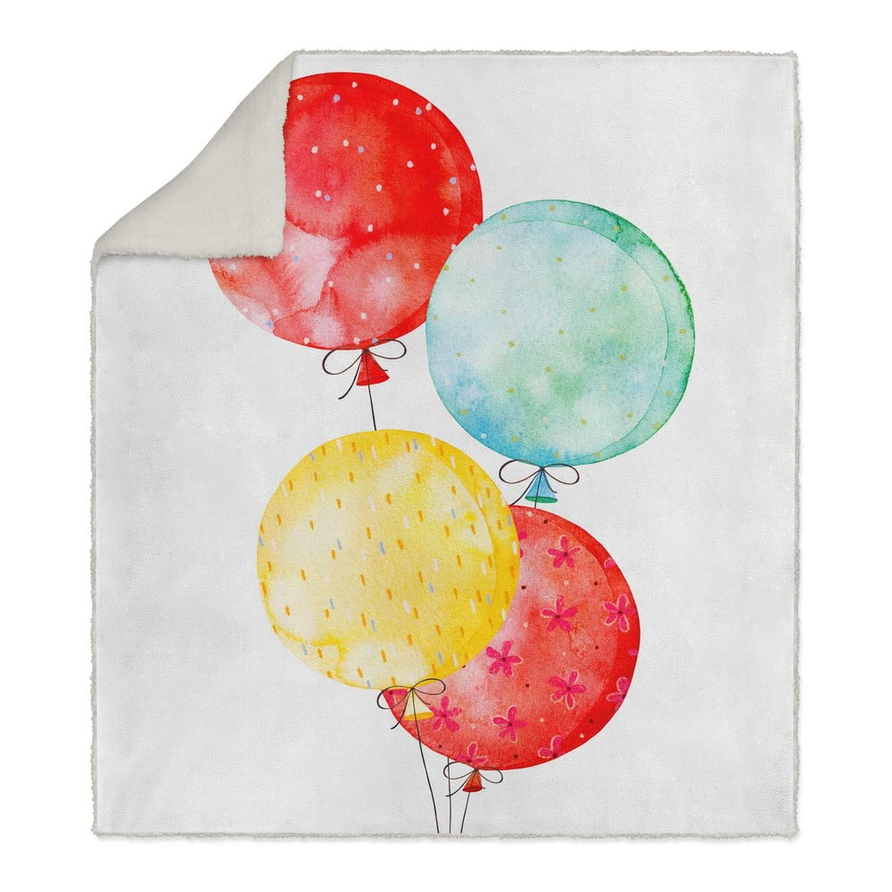 Dětská deka OYO Kids Balloons, 130 x 160 cm