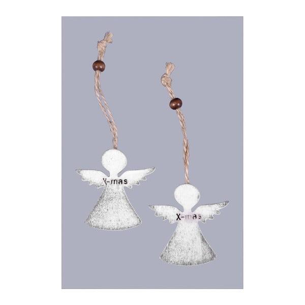 Set 6 decorațiuni de agățat - îngerași Ego Dekor