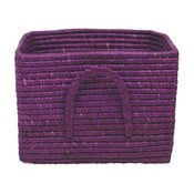 Švestkový košík z rýžových vláken, 35 cm