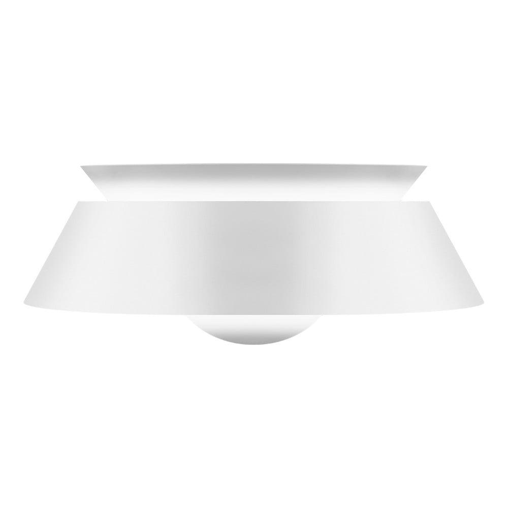 Bílé stínidlo VITA Copenhagen Cuna, Ø 38 cm