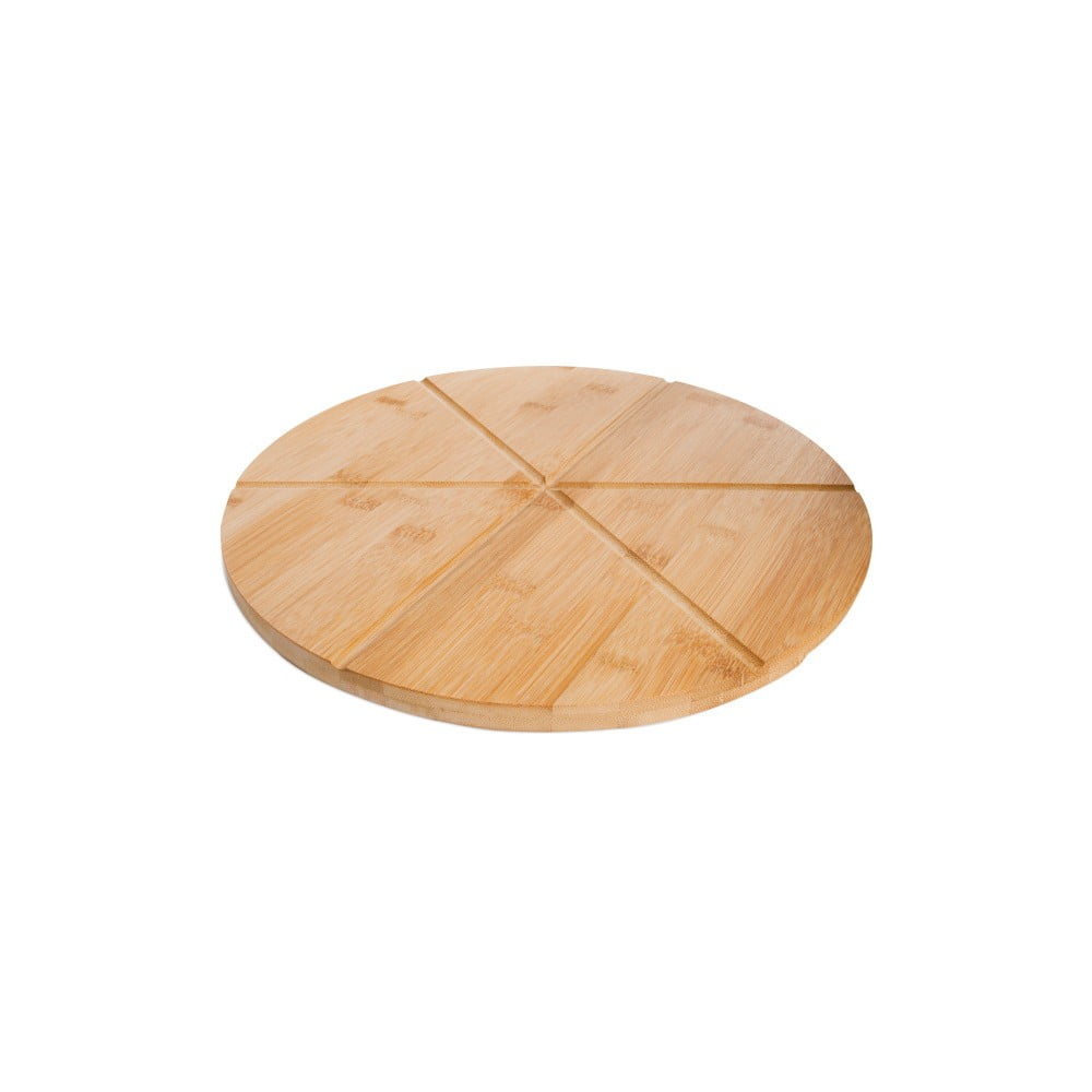 Bambusový podnos na pizzu Bambum Slice, ⌀ 35 cm Bambum
