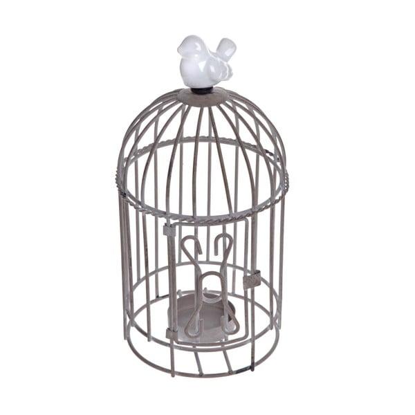 Stojan na čajovou svíčku Beige Cage