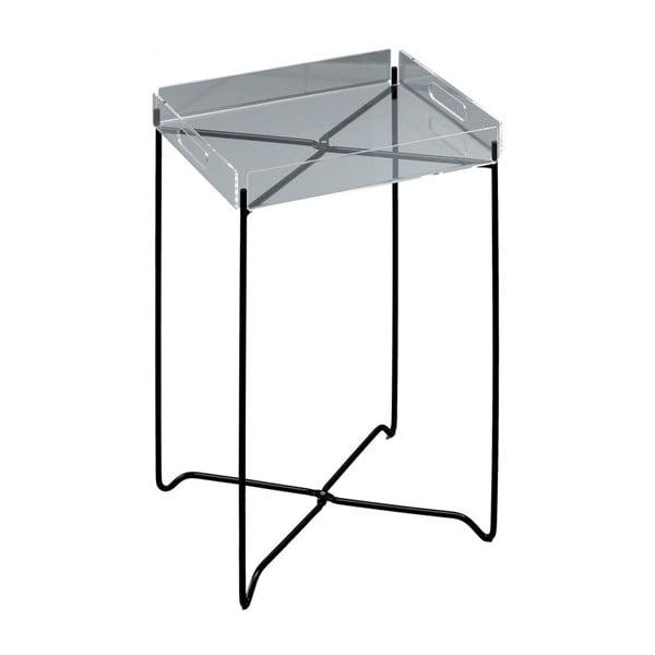Odkládací stolek s černým podnožím Design Twist Nagpur
