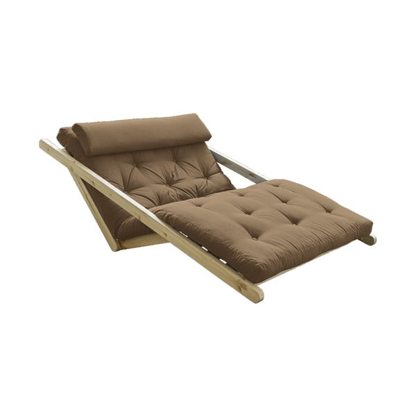 Canapea extensibilă Karup Design Figo Natural/Mocca